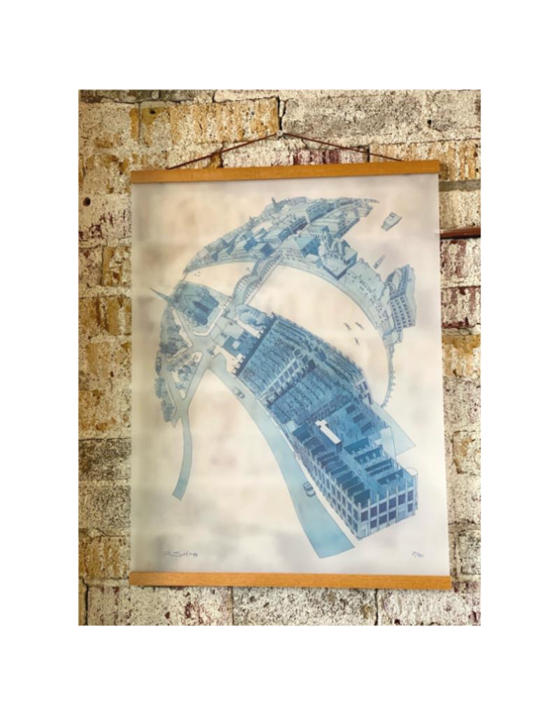 T.K. Justin Ng Limited Edtion Galt Art Print