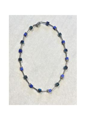 Merx Necklace Lobster Dark Blue