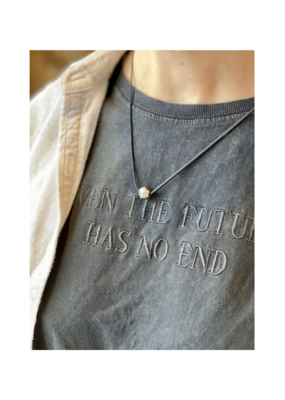 pursuits Pursuits Pivot Short Necklace Black & Silver