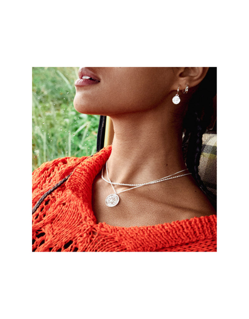 PILGRIM Pam Necklace Silver-Plated by Pilgrim