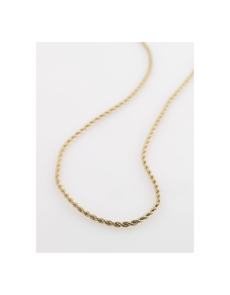 PILGRIM Pam Necklace Gold-Plated by Pilgrim