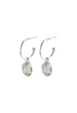 PILGRIM Gerda Earrings Silver-Plated by Pilgrim