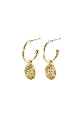 PILGRIM Gerda Earrings Gold-Plated by Pilgrim