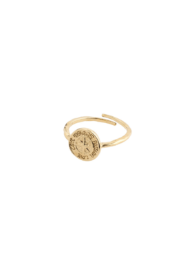 PILGRIM Gerda Ring Gold-Plated by Pilgrim