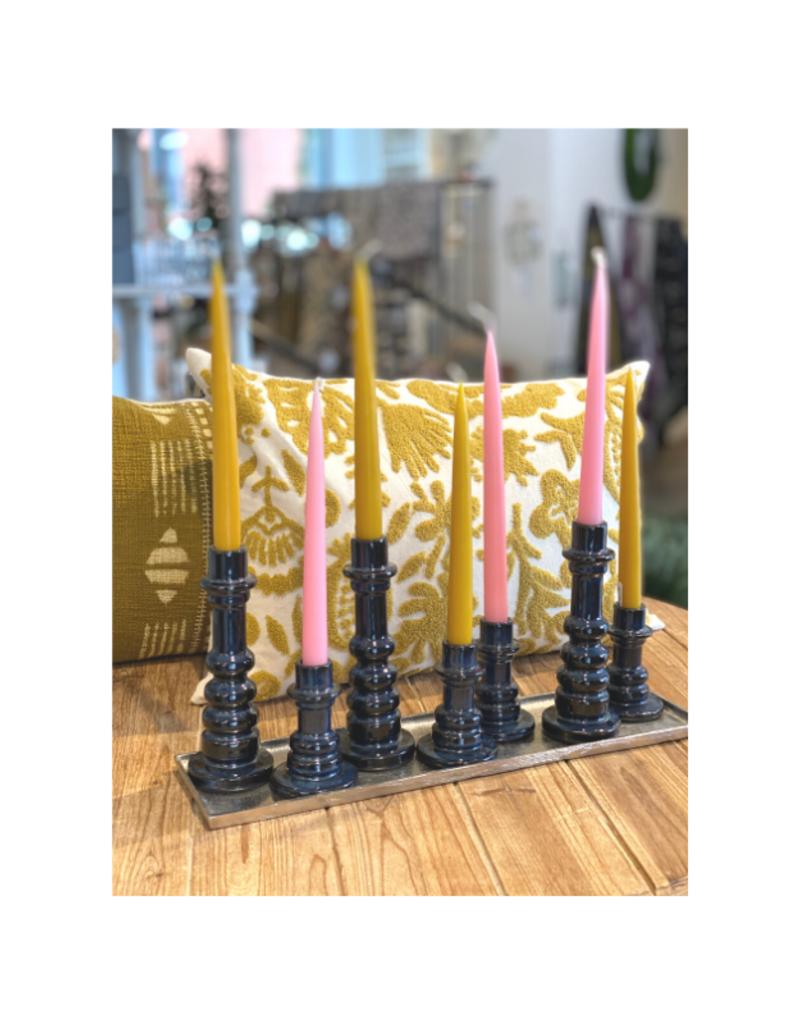 Twilight Taper Candle Set of 2 Honey