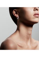 PILGRIM Kaylee Earrings Silver-Plated Crystal by Pilgrim