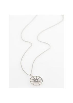 PILGRIM Kaylee Necklace Silver-Plated Crystal by Pilgrim