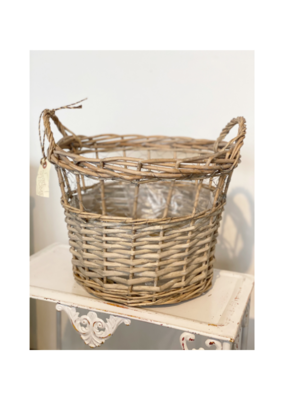 Openweave Basket with Chicken Wire
