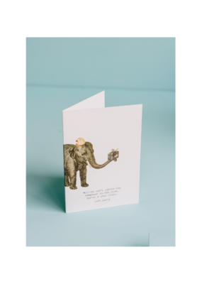 We Can't Ignore the Elephant Card