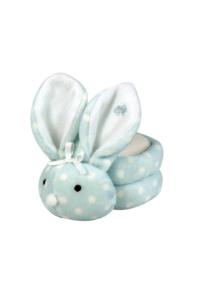 creative brands Boo Bunnie Blue Polka Dots