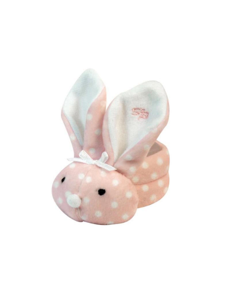 creative brands Boo Bunnie Pink Polka Dots