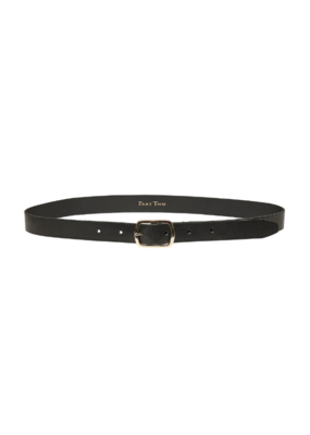 Part Two Timna Belt in Black Leather by Part Two