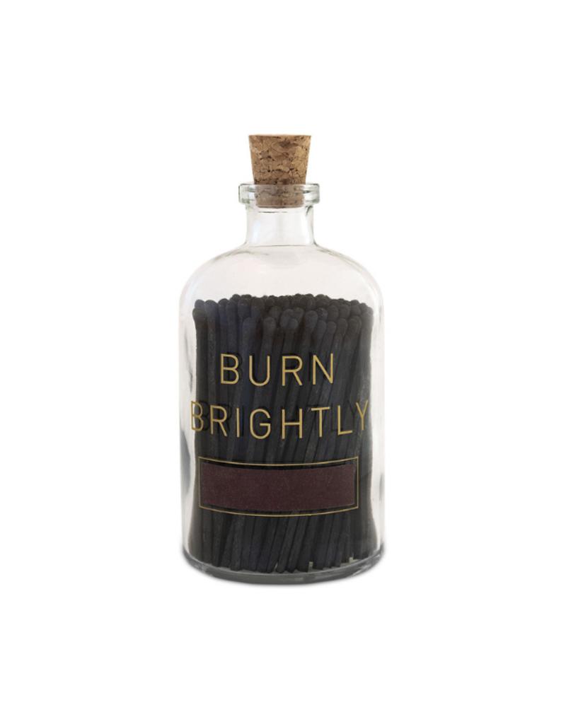 Skeem Skeem Burn Brightly Apothecary Match Bottle Large