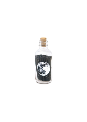 Skeem Skeem Astronomy Apothecary Match Bottle Black Mini