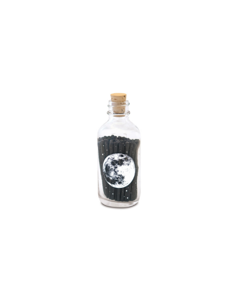 Skeem Astronomy Apothecary Match Bottle Black Mini