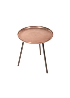 Round Iron Table 16x17.5