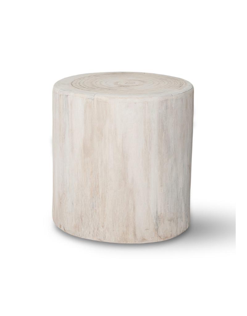 "Salish Stump End Table 16"""
