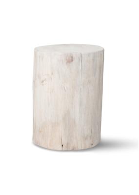 "Salish Stump End Table 21"""