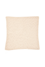 Chunky Knitted Cushion Natural