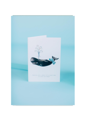 A Whale of a Good Time Card