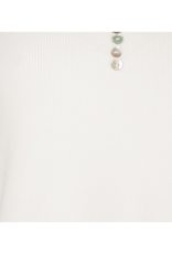 Camisole with Buttons in Off White by EsQualo