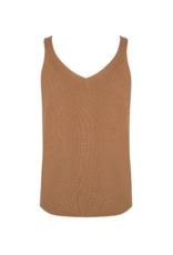 Camisole with Buttons in Cappuccino by EsQualo