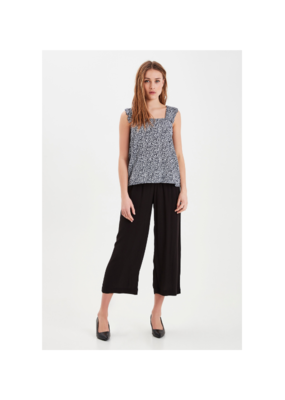 ICHI Marrakech Pant in Black by ICHI