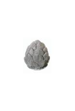 Small Grey Cement Artichoke