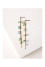 Lover's Tempo Dot Crystal Earrings in Sea by Lover's Tempo