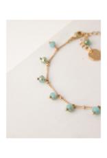 Lover's Tempo Dot Crystal Bracelet in Sea by Lover's Tempo