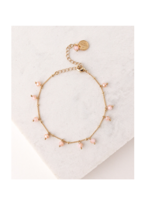 Lover's Tempo Dot Crystal Bracelet in Blush by Lover's Tempo