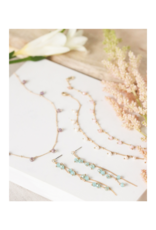 Lover's Tempo Dot Crystal Bracelet in Plum by Lover's Tempo