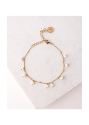 Lover's Tempo Dot Bracelet with Pearls by Lover's Tempo