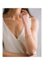 Lover's Tempo Dot Crystal Bracelet in Blush by Lover's Tempo