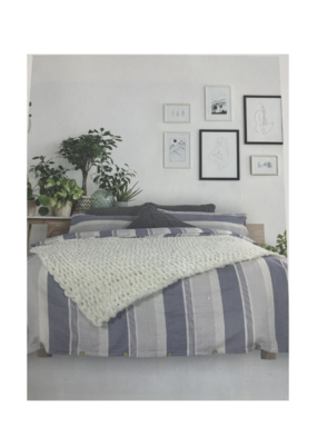 alamode Brevan Linen Cotton Duvet Set
