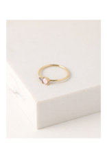 Lover's Tempo Dolce Ring in Pink Opal by Lover's Tempo