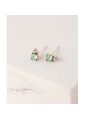 Lover's Tempo Dolce Earring Studs in Pacific Opal by Lover's Tempo