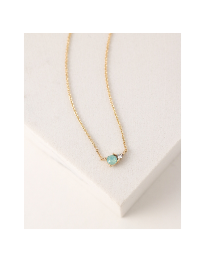 Lover's Tempo Dolce Necklace in Mint by Lover's Tempo