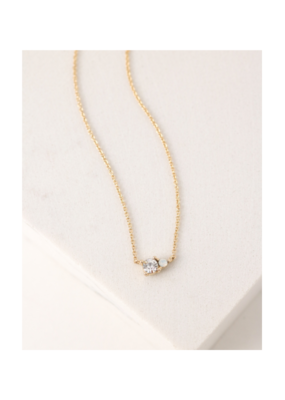 Lover's Tempo Dolce Necklace in Clear by Lover's Tempo