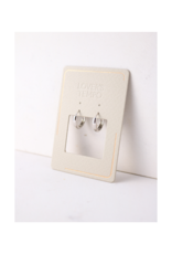 Lover's Tempo Bea Hoop Silver-Plated Earrings 15mm by Lover's Tempo