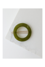 Lover's Tempo Winona Hair Clip in Olive by Lover's Tempo