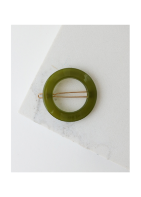 Lover's Tempo Winona Hair Clip in Olive by Lover's Tempo