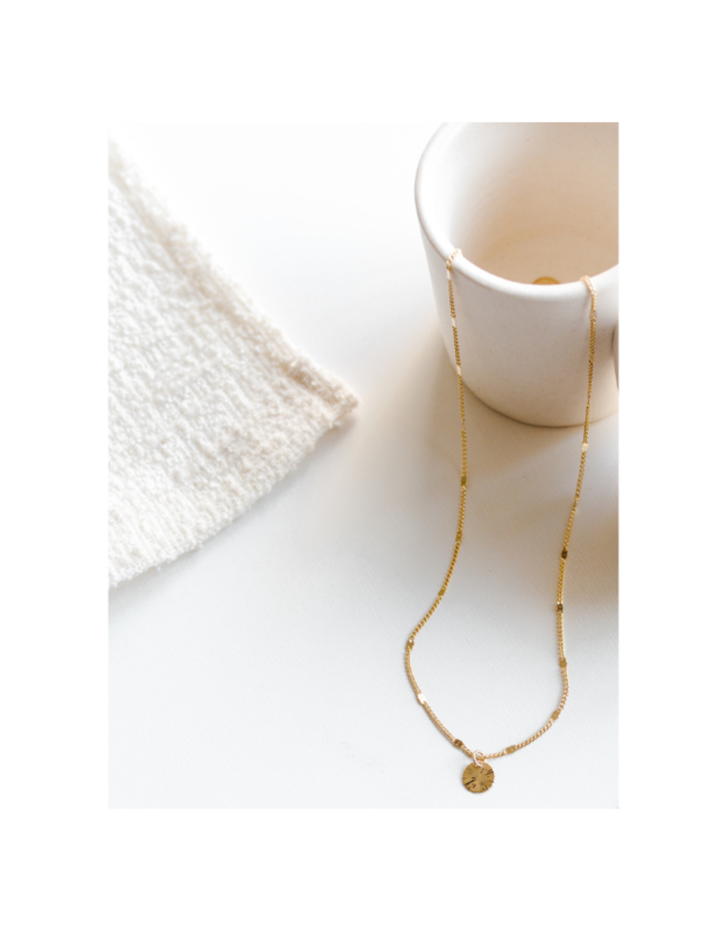 Lover's Tempo Everly Circle Necklace in Gold-Plated by Lover's Tempo