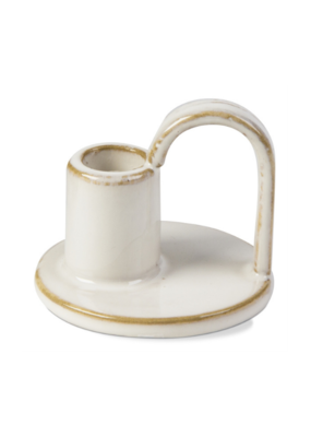 tag Taper Holder Plate Ivory