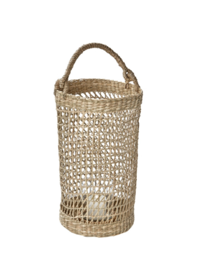 Natural Seagrass Lantern