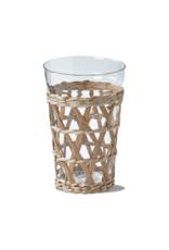 tag Island Short Drinking Glass