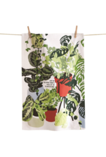 tag Lots of Plants Here Tea Towel