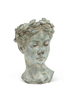 Woman Head Planter Large