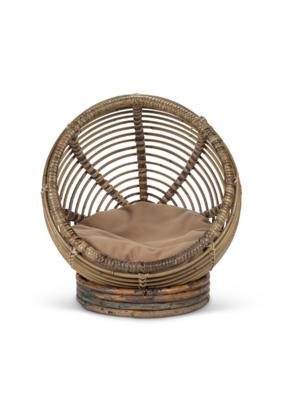 Rattan Round Pet Bed