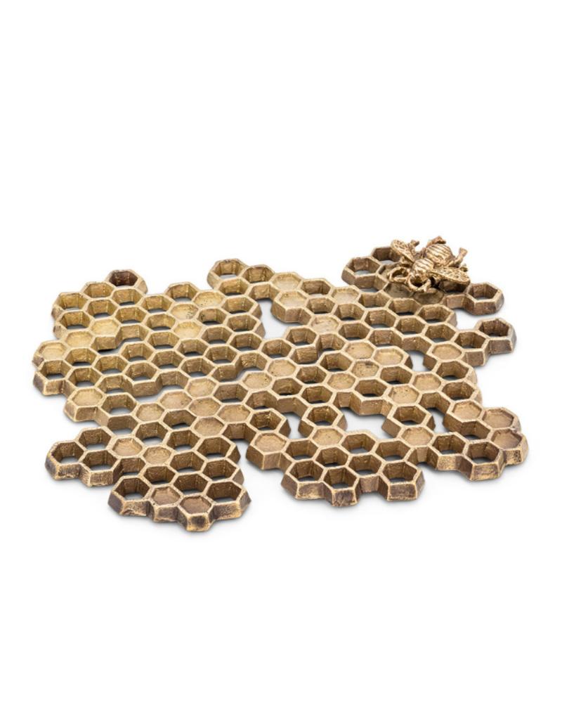 Honeycomb Trivet with Bee